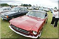 TQ5583 : View of a Ford Mustang in Havering Mind's Wings and Wheels event at Damyns Hall Aerodrome #5 by Robert Lamb
