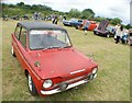 TQ5583 : View of a Hillman Imp in Havering Mind's Wings and Wheels event at Damyns Hall Aerodrome #2 by Robert Lamb