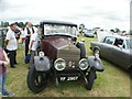 TQ5583 : View of a Rolls Royce in Havering Mind's Wings and Wheels event in Damyns Hall Aerodrome by Robert Lamb