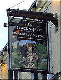 SE0125 : Sign for the Shoulder of Mutton, Mytholmroyd by JThomas