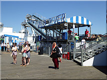 TQ3103 : Wild River ride, Palace Pier by Robin Webster