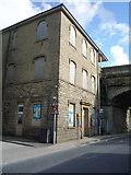 SE0125 : Mytholmroyd Old Railway Station building by JThomas