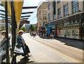 SJ8498 : Awaiting a northbound tram by Gerald England