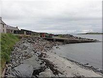 HU1857 : Slipway to the sea by Mat Tuck