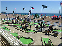 TQ3103 : Crazy Golf, Brighton by Robin Webster