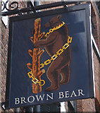 SK3587 : The Brown Bear by Ian S