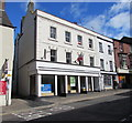 SO5012 : Vacant  premises on a Monnow Street corner, Monmouth by Jaggery