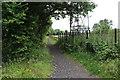 ST1798 : Footpath near Maes Manor Hotel by M J Roscoe