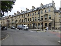 ST7565 : Terraced houses in Sydney Place, Bath by David Smith