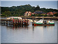 SU4208 : Hythe Ferry at the End of the Pier by David Dixon