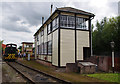 SJ7055 : Exeter West signal box by Ian Taylor