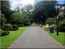 SU4212 : Southampton, Palmerston Park by David Dixon