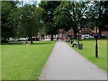 SU4212 : Path in Palmerston Park by David Dixon
