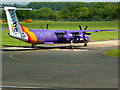 SU4516 : Aeroplane Queuing Area, Southampton Airport by David Dixon