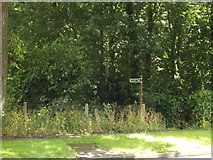 TL2012 : Footpath to Brickwall Close, Ayot Green by Adrian Cable
