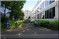 SU1485 : Entrance to office block parking by Bill Boaden