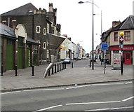 ST3187 : Lower Dock Street from Kingsway, Newport by Jaggery
