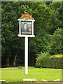 TL1812 : John Bunyan Public House sign by Adrian Cable