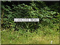 TL1814 : Codicote Road sign by Adrian Cable