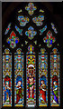 SK8333 : East window, St James's church, Woolsthorpe by Belvoir by Julian P Guffogg
