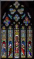 SK8333 : East window, St James's church, Woolsthorpe by Belvoir by Julian P Guffogg