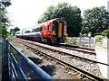 SK6543 : Level crossing at Burton Joyce by Graham Hogg