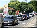 SK5940 : Rush hour traffic on Carlton Road by Graham Hogg