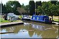 SK2102 : Boats at Tamworth Cruising Club by David Martin