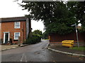 TL1715 : Entrance to Mid Herts Golf Club by Geographer