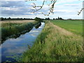 TF3902 : Morton's Leam, an ancient fenland drain - The Nene Washes by Richard Humphrey