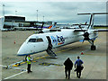 SJ8284 : Boarding at Manchester Airport by David Dixon