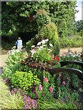 TQ2882 : Floral sculpture? Regent's Park by Paul Harrop