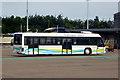 SU4416 : Courtesy Bus at Southampton Airport by David Dixon