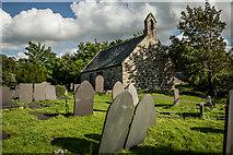 SH5571 : St Tysilio's, Church Island by Brian Deegan