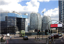 TQ3282 : Old Street Roundabout by Des Blenkinsopp