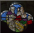SK8333 : Clerestory glass, St James's church, Woolsthorpe by Belvoir by J.Hannan-Briggs