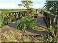 TF3902 : Bailey bridge crossing Morton's Leam - The Nene Washes by Richard Humphrey