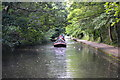 SP1283 : Wooded section of Grand Union Canal near Acocks Green by David Martin