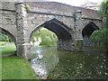 TQ4274 : The stone bridge at Eltham Palace by Marathon