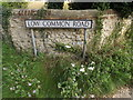 TM0479 : Low Common Road sign by Adrian Cable
