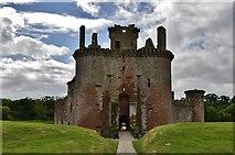 NY0265 : Caerlaverock Castle gatehouse by Michael Garlick