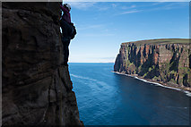 HY1700 : Climbing the Old Man Of Hoy by Doug Lee