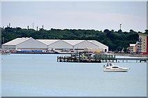 SU4208 : Hythe Pier by David Dixon