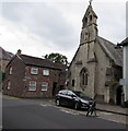 SO0428 : St Michael's Catholic Church, Brecon by Jaggery