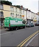 SO3014 : Carnevale van in Cross Street, Abergavenny by Jaggery