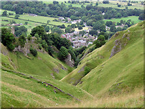SK1482 : Cave Dale by Stephen Burton