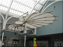NT2573 : Pilcher's Hawk - a 19thC hang glider by M J Richardson
