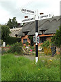 TM0080 : Roadsign on Smallworth by Adrian Cable