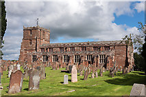 NY3767 : Church of St Michael and All Angels, Longtown - July 2016 (1) by The Carlisle Kid