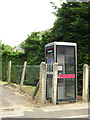 TM0081 : Telephone Box off the B1111 Hopton Road by Adrian Cable
